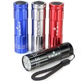 Pack of 4 flashlight